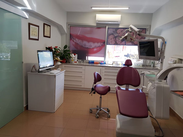 Interior clinica d'odontologia Opcion Dental Clinica Lleida