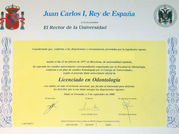 acreditación univ Juan Carlos 1