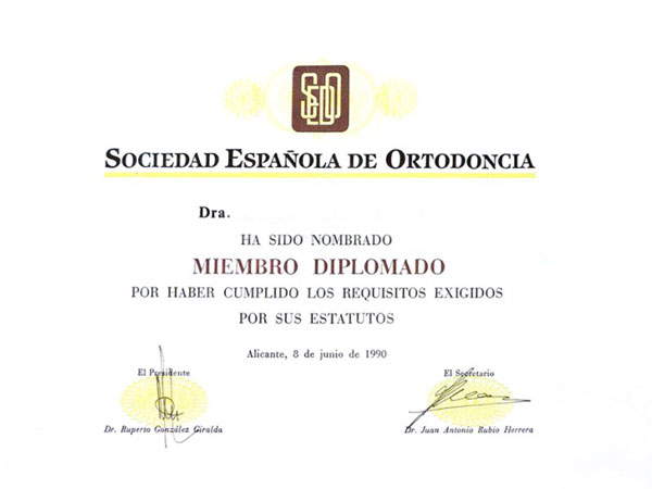 Acreditación clínica ortodoncia en Lleida