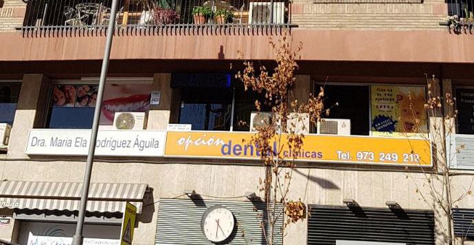 exterior Opción Dental Clínicas en Lleida