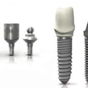 implantes dentales en Lleida tipos de tornillos